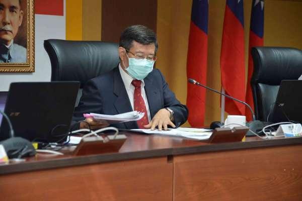 首次主持市政會議 楊明州:為民服務不間斷
