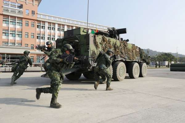 新新聞》被沈一鳴讚「這支部隊能打仗」的聯合兵種營