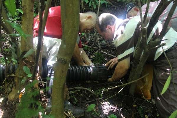 20年山林踏勘 無名英雄戴文福組隊走出3公里巡水路