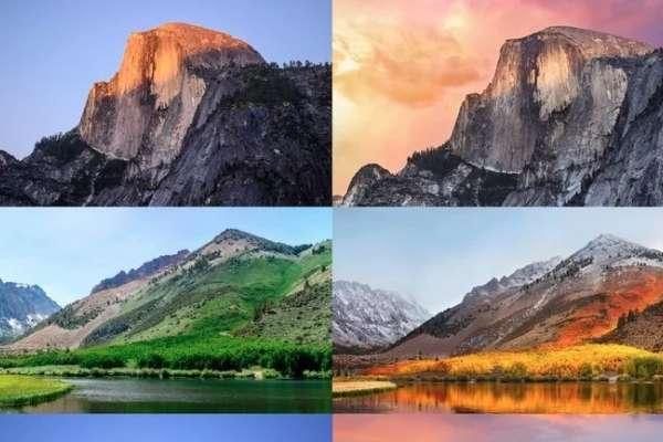 蘋果Mac絕美桌布都是去哪拍的?超強攝影師親臨現場拍出5組對比照