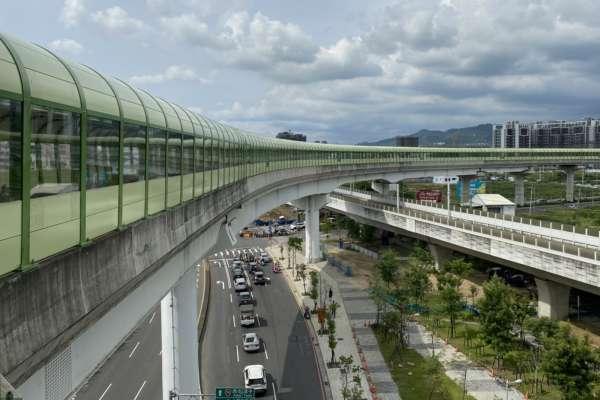降低行駛噪音 中市捷運綠線隔音牆全數完工