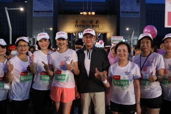 台灣兩位最美的董娘合體  揭開亞洲首場最大規模女子路跑