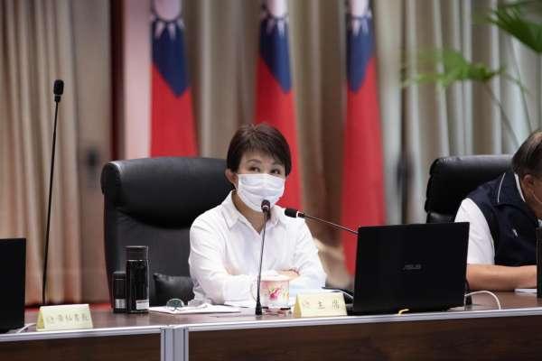 台中港安全管控 盧秀燕要求硝酸銨盡速清出