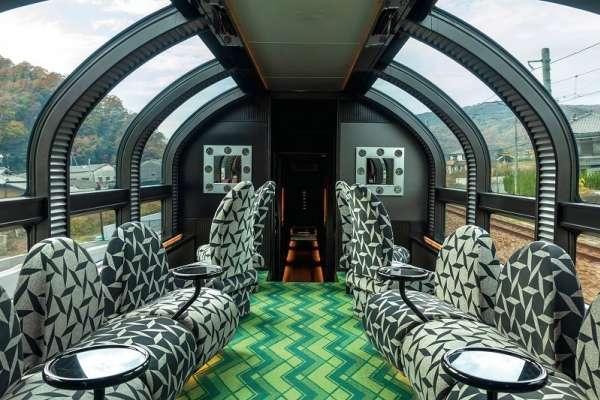 頂級鐵道之旅》日本豪華列車「瑞風號」開箱:整節車廂都是你的,還有專屬管家全程服務!