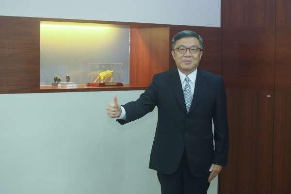 證券商業同業公會理事長賀鳴珩認為台灣人常低估了台股潛力,根據數據,台股近十年年化報酬率高達8.79%。(柯承惠攝)