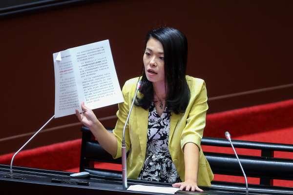 民眾黨3名立委「公督盟評鑑」並列最高分 高虹安說話了