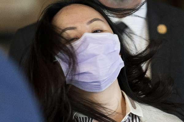 英國判匯豐不用公開內部報告 孟晚舟再向香港法院提出申請