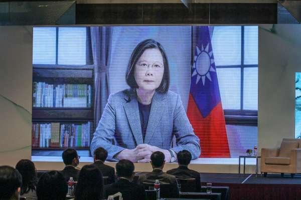 2020玉山論壇》蔡英文:台灣民主受到特定勢力威脅 澳洲前總理騰博:中共對外更具攻擊性