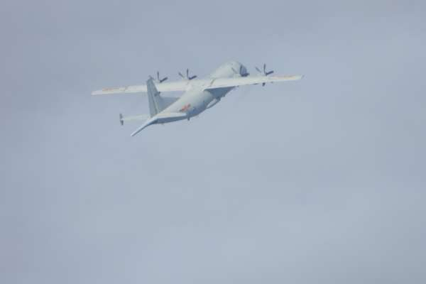 雙十國慶共機還來 軍方證實:一架運8反潛機進入我西南防空識別區