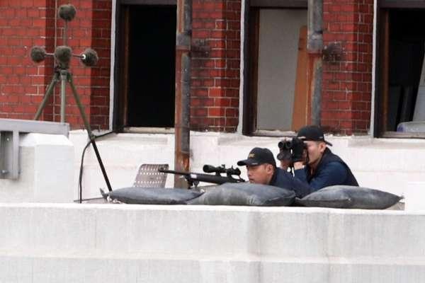 國慶限定!槍響偵測器助攻 「維安守護神」特勤狙擊手罕見曝光