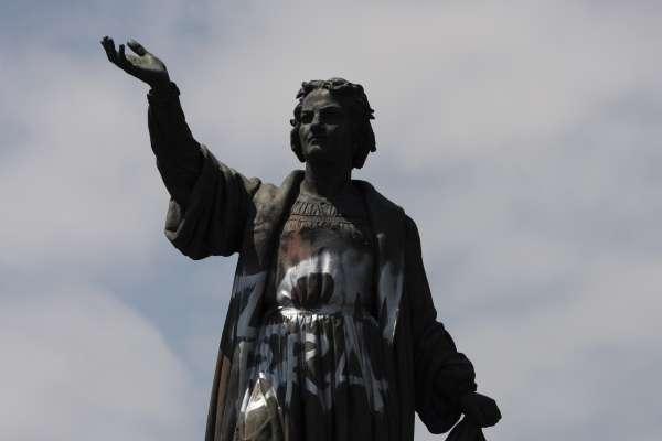 發現美洲新大陸為原住民帶來浩劫 墨西哥撤走哥倫布銅像免遭破壞