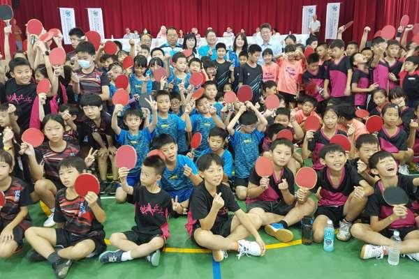 理事長盃國小桌球賽開打 新竹小球友跨縣市以球會友