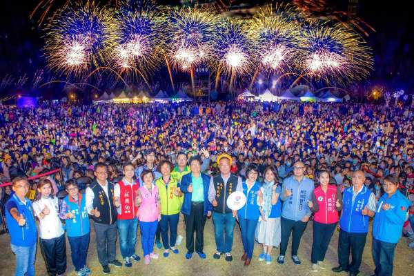 竹縣延續國旅熱潮 楊文科拍板:今年恢復辦理跨年晚會