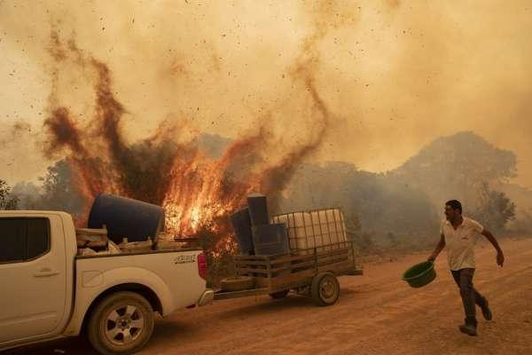 地球最大濕地陷入火海,全人類的環境災難!珍稀動物家園毀滅、二氧化碳大量釋放