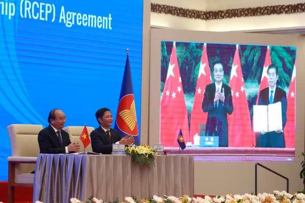 全球最大GDP自貿協定》15國視訊簽署RCEP 中國將擴大地緣政治野心