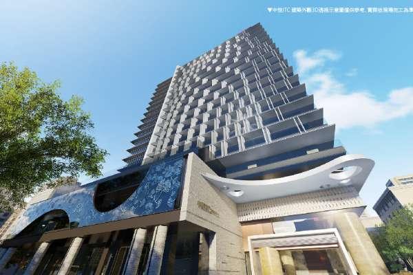 「中悦ITC」國際商貿中心  位於青埔核心擁公園地王