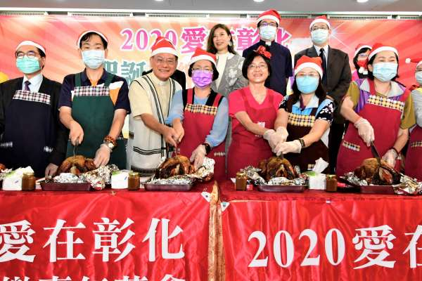 聖誕歡樂嘉年華系列活動 11/29彰化火車站點燈開始