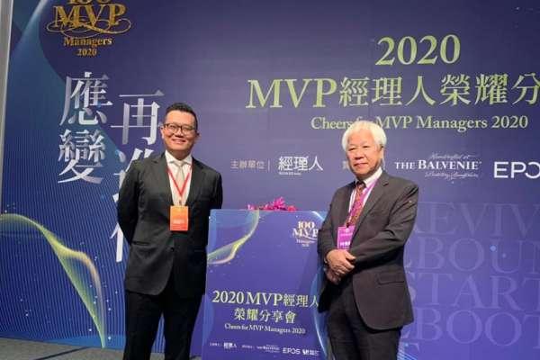 公關產業能得獎,非常不容易!布爾喬亞執行長鄧耀中獲頒2020百大經理人獎