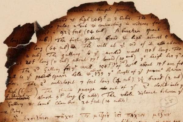 迷戀鍊金術、相信聖經密碼、篤信埃及金字塔可測地球周長!「現代科學之父」牛頓珍貴筆記拍賣 近1500萬落槌成交