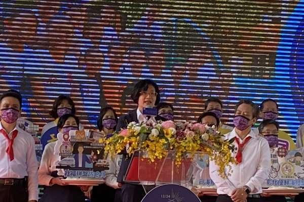 王惠美就職2周年 宣布108項首獎肯定推出36項全國首創政策