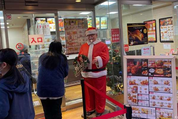 日本人過耶誕節就是要吃肯德基!故事要從1970年說起……