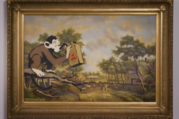 「這真是奇蹟!」荷蘭美術館賣塗鴉大師班克西名畫養員工 神秘佛心買主讓原館續展1年
