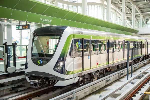 台中捷運綠線升級軸心陸續抵台 2月2日完成更換作業