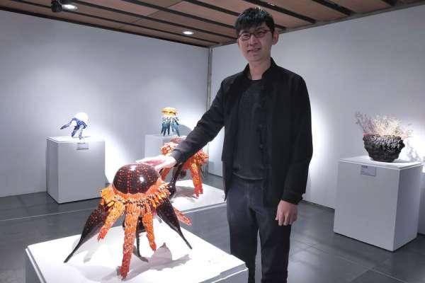 國際知名青年陶藝家送驚喜 放大千倍花蕊變身藝術品