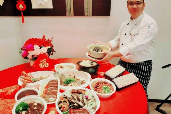 北高雄知名酒店首推外帶年菜銷量佳 精選主廚推薦過好年