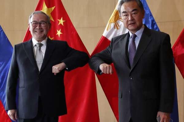 信守習近平承諾》中國外長王毅訪菲律賓 宣布捐贈50萬劑新冠疫苗