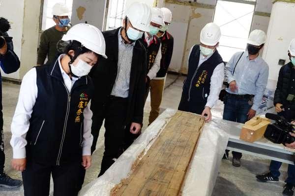 臺中州廳修復工程符合進度 已完成拆除周邊非文資身分建物