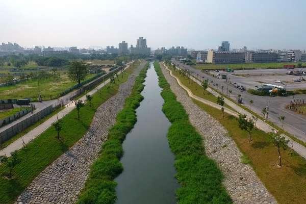 鳳山溪都市水環境營造計畫 民安橋生態緩坡營造完工啟用