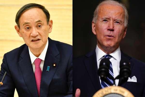 菅義偉訪美》預計與拜登談台灣問題 台海局勢可能寫進美日聯合聲明