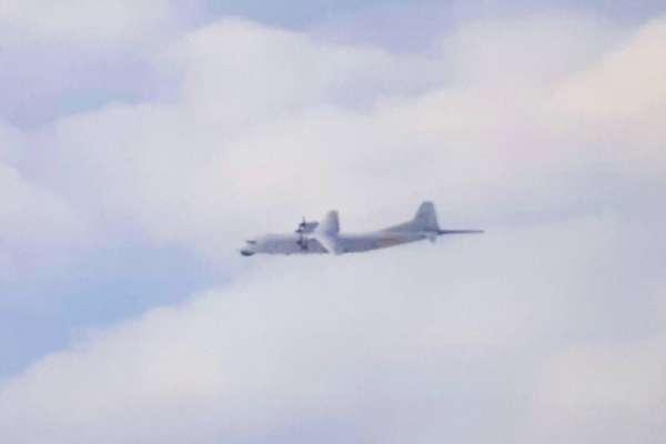 疫情延燒不忘來亂!3型、4架共機次現蹤 運-8反潛機脫隊從西南飛到東南