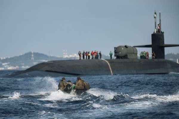 搭載154枚戰斧飛彈巡弋太平洋,它是嚇阻解放軍的海上長城:美軍核動力潛艦「俄亥俄號」