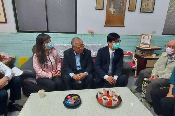 陳其邁拜訪二二八受難者家屬 聆聽過往