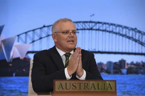 中國經濟脅迫生效?澳洲總理莫里森:對台灣政策「秉持一國兩制」!