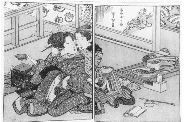 這些圖案竟藏有性暗示?鑽研浮世繪多年的專家精闢解析,一窺日本最輝煌的情色藝術史