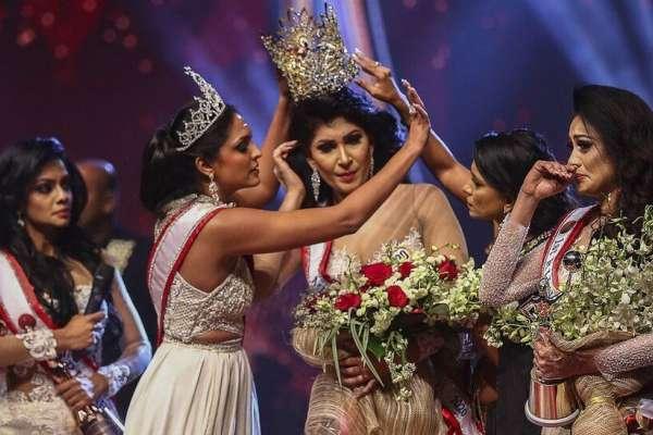 選美大賽成「互撕」亂鬥!「斯里蘭卡太太」冠軍被疑離婚,后冠竟遭強行摘下