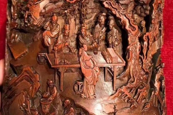 洪三雄專欄:工細入微形體如生─創下竹雕最高拍賣價的顧鈺