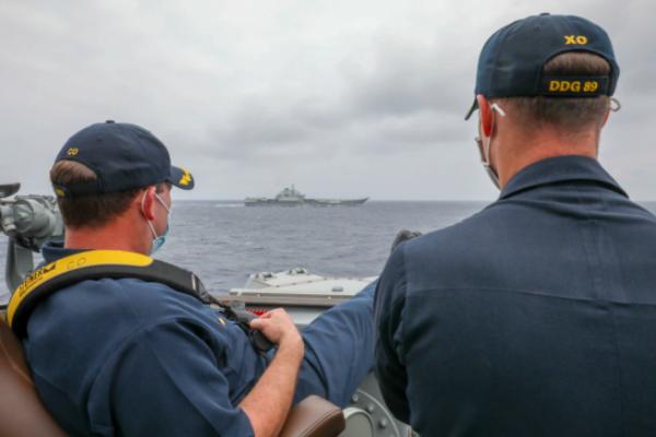 陳東豪專欄:7年後美艦再逼近遼寧號,中國反應變沈穩