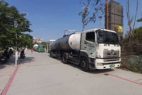 臺中市首部大型RO級淨水設備啟動供水 加入抗旱行列