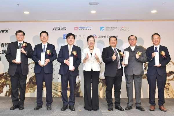 台灣五虎將登全球百大創新機構 工研院五度獲獎笑傲亞洲