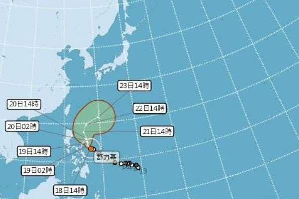 強颱「舒力基」發威最強時間曝光!這2天將帶來豐沛雨水,各地降雨機率大增