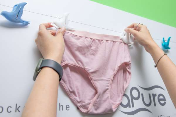 內褲真的洗乾淨了嗎?機能性纖維專家建議五招徹底清潔