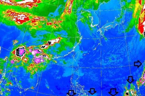 乾濕空氣交界偏南 氣象局長:很少見!且影響梅雨的節奏