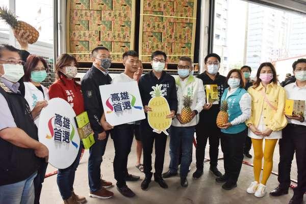 高雄鳳梨外銷日本紅不讓 前日本首相安倍的鳳梨就是高雄來的