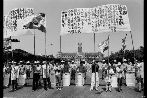 「台灣民主運動」攝影展在德國上線 謝志偉:獨裁政權有如病毒