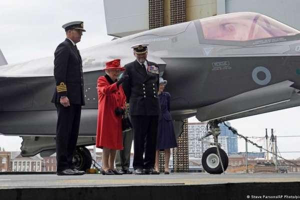 英國航母「伊麗莎白女王號」啟程前往亞洲 首相強森:絕不是要對抗中國
