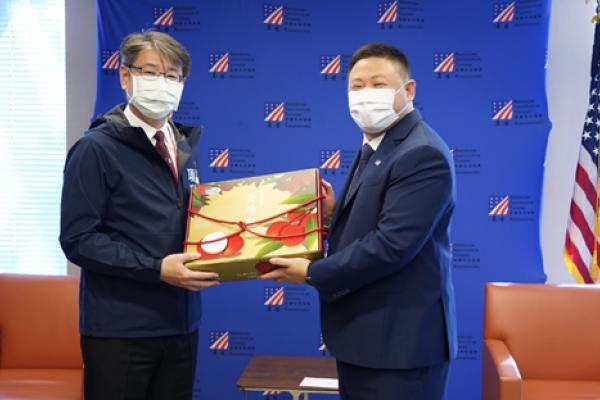 「真朋友,真進展」 陳其邁感謝美國捐贈疫苗